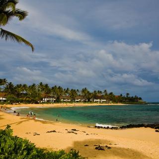 Poipu Beach Park, Kauai