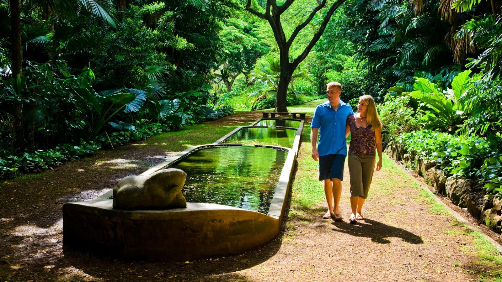 Allerton Mcbryde Gardens Kauai Go Hawaii